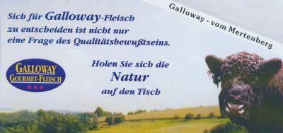 Galloway Fleisch - vom Mertenberg