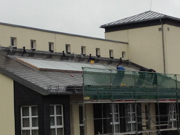 Solaranlage Seniorenzentrum Olbernhau